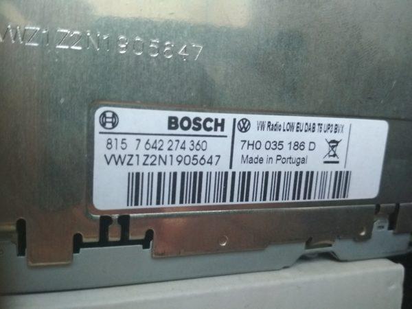 Штатная магнитола VW Touareg