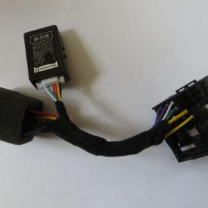 Переходник ISO&QUADLOCK с эмулятором can шины